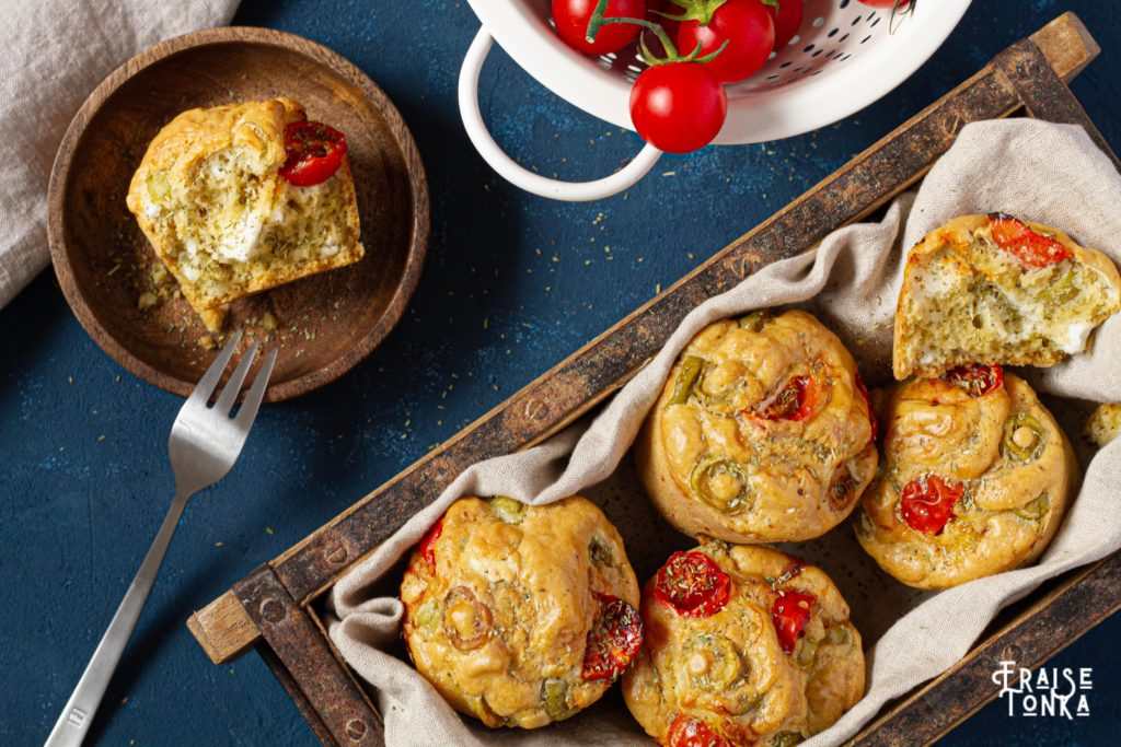 Muffins feta_recette_sans_gluten_photographe_culinaire